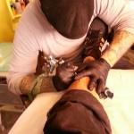 Back in the tattoo saddle again.